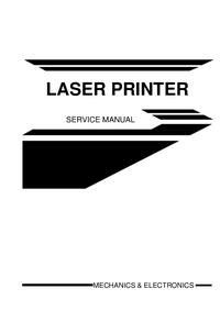 Manual de serviço Brother 1660e