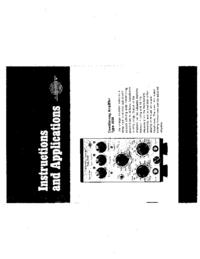 Manual do Usuário BruelKJAER 2626
