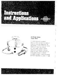 Instrukcja obsługi BruelKJAER 4219