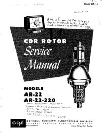 Руководство по техническому обслуживанию CDE AR-22