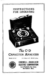 Manuel de l'utilisateur CDE BF-50