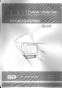 Service Manual CTX 1785GM