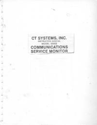 Service-en gebruikershandleiding CT_Systems 3000B