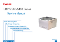 Service Manual Canon LBP7750C Series