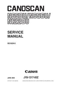 Service Manual Canon Canoscan N650U