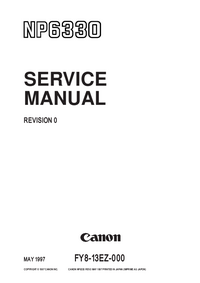Manual de servicio Canon NP6330