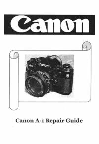 manuel de réparation Canon A-1