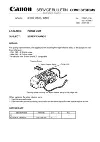 Servicehandboek Extension Canon i9100
