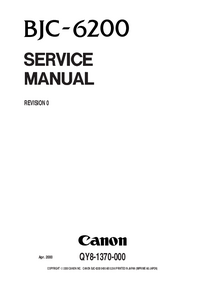 Service Manual Canon BJC-6200