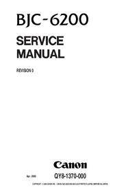 Manual de serviço Canon BJC-6200