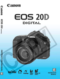 User Manual Canon EOS 20D