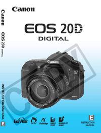 Manual do Usuário Canon EOS 20D