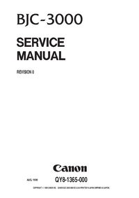 Service Manual Canon BJC-3000