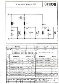 Cirquit Diagram Canton Karat 60