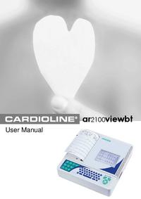 Manual do Usuário Cardioline ar2100viewbt