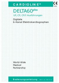Manual do Usuário Cardioline Delta 60 Plus
