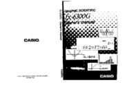 User Manual Casio FX-6300G