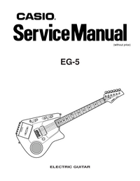 Service Manual Casio EG-5