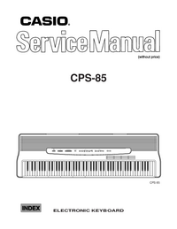 Manual de servicio Casio CPS-85