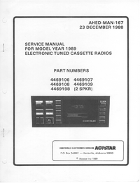 Service Manual Chrysler 4469109