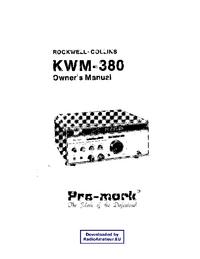 Service-en gebruikershandleiding Collins KWM-380