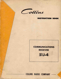 Service and User Manual Collins 51J-4