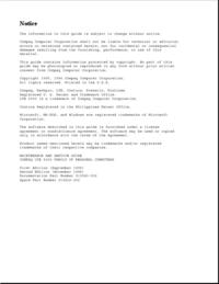 Manuale di servizio Compaq LTE 5100