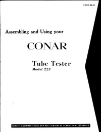 Conar-9186-Manual-Page-1-Picture