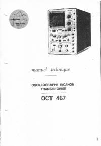 Instrukcja serwisowa Crc OCT 467