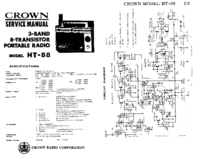 Service Manual Crown HT-88