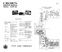 Service Manual Crown STP-80
