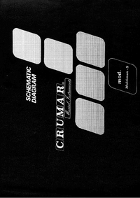 Cirquit Diagram Crumar Multiman-S