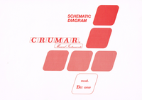 Cirquit diagramu Crumar Bit one