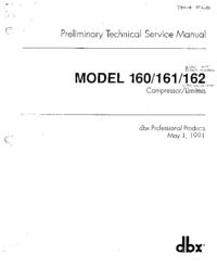 Instrukcja serwisowa DBX 162