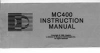 Manuel de l'utilisateur Daetron MC400