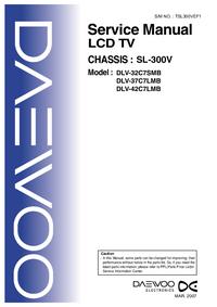 Manual de servicio Daewoo DLV-32C7SMB