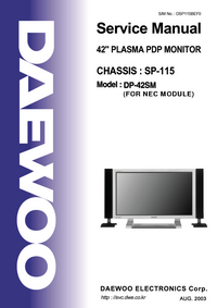 Daewoo-3251-Manual-Page-1-Picture