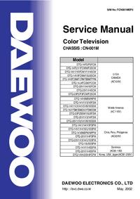 Instrukcja serwisowa Daewoo DTQ-14U1