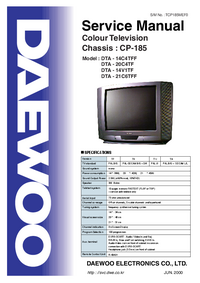 Service Manual Daewoo DTA - 14V1TF