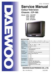 Service Manual Daewoo CP-185