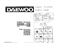 Cirquit Diagram Daewoo CP-315
