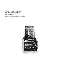 Service Manual DatexOhmeda 7800