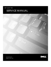 Service Manual Dell Latitude C800