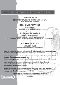 Manual del usuario Delonghi DE400P