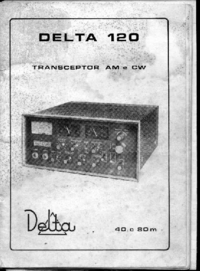 Service and User Manual Delta 120