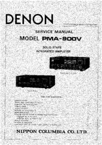 manuel de réparation Denon PMA-900V