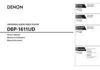 Manual do Usuário Denon DBP-1611UD