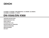 Denon-2999-Manual-Page-1-Picture