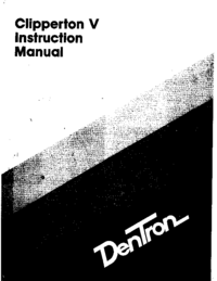 Servicio y Manual del usuario Dentron Clipperton V