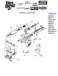 Service Manual DirtDevil 083424
